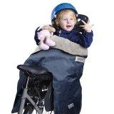 Mit einem solchen Thermoschutz versehen ist das Mitfahren im Kindersitz auch im Winter eine gemütliche Sache.