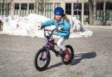 """Schon ein richtiges BMX-Bike, nur verkleinert, damit auch die ganz jungen Fans der Halfpipe schon mal ein paar Runden drehen können: das """"Seed 16"""" der Kölner Firma Wethepeople."""