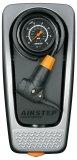 Wer beim Reifen aufpumpen lieber mit dem Fuß als mit Armen und Rücken arbeitet, wird sich über eine Fußpumpe freuen. Hier das Modell Airstep der Marke SKS, mit Manometer und  langem Schlauch, platzsparend zusammenfaltbar.