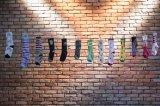 Nie wieder schnöde weiße Socken im Radsport: Die unzähligen bunten Designs der US-Firma Sockguy sind künftig auch in Deutschland problemlos erhältlich.