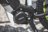 Die Positionierung des Motors am Tretlager, also ganz zentral im Rahmen wie bei diesem Mountainbike der Firma Haibike,hat u.a. Vorteile für das Handling des Rades.