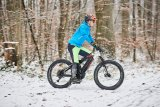 Mit dicken Reifen lässt sich der Schnee besonders genießen. Fatbikes sind wie geschaffen für eine Tour durch die Winterwelt.