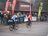 Die Rundkurse bei einem Cyclocross-Rennen sind zuschauerfreundlich gestaltet.