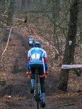 Steile Anstiege und Abfahrten sind bei einem Cyclocross-Rennen im stetigen Wechsel.