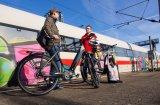Im ICE 4 besteht die Möglichkeit, Fahrräder und E-Bikes im Fernverkehr mitzunehmen.