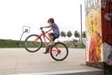 Mit einem gut passenden Rad sind erste Tricks und Kniffe schnell gelernt. Und wer die kann, kann auch sonst gut mit seinem Rad umgehen.