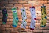 Eine Vielzahl an Farben, Designs und auch Längen hat US-Hersteller Sockguy im Angebot. Erstmal sind die Socken nun auch regulär am deutschen Markt erhältlich.