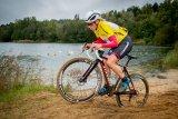 Die breiteren Reifen von Cyclocross-Rädern ermöglicht das Befahren von sandigen Passagen.