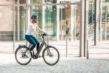 Motor und Akku sind bei vielen E-Bikes mittlerweile integriert. So sieht man erst auf den zweiten Blick, dass es sich um ein Elektrorad handelt.