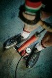 """Der SKS-Rennkompressor ist eine seit Jahrzehnten bewährte Standluftpumpe - eine Legende unter Radsportlern. SKS hat nun eine limitierte """"Vintage""""-Version produziert."""