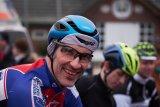 Kai-Henrik Günther vor dem Start des Cyclocross-Rennes in Buchholz.