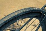 """Speziell für sportliche Räder ist das Schutzblech """"Speedrocker"""" von SKS konzipiert. Für Gruppenausfahrten gibt es mit der """"Extension"""" auch noch eine passende Verlängerung, die Mitfahrende von Schmutzspritzern verschont."""