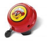 Bunte Ermahnung, immer einen Helm zu tragen: die Kinderfahrradklingel.