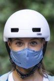 Gut geschützt gegen harte Schläge und feine Aerosole...