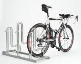 Eine gut gemachte Abstellanlage birgt auch für empfindliche Carbonlaufräder kein Beschädigungsrisiko.