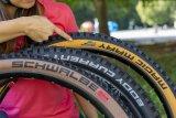 Wenn die Bikes spezieller werden, folgen die Reifen: Hersteller Schwalbe bietet fünf unterschiedlich ausgerichtete Mountainbikereifen, von Super Race (besonders leicht) bis Super Downhill (maximaler Durchschlagschutz).
