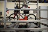 """Die Qualitätskontrolle macht auch vor dem fertig aufgebauten Rad nicht halt: das """"S-Pro 18"""" im Dauertest. Hersteller Puky gibt für seine Kinderräder eine Produktgarantie von fünf Jahren."""