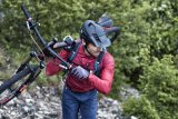 Ein Offroad-Trip kann ziemlich schweißtreibend sein. Gute Belüftung ist bei MTB-Helmen daher unverzichtbar.