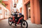 Besonders für städtische Familien eignet sich das Lastenrad - das in jedem Falle mindestens den Zweitwagen ersetzen kann.
