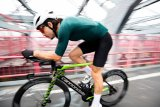 Für Triathleten und Zeitfahrspezialisten sind Aerodynamik und Gewicht von größter Bedeutung. Die Hersteller tragen dem mit immer neuen Spezialmodellen Rechnung; hier das SuperSlice der Firma Cannondale.