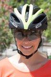 Das unsichtbar in den Helm integrierte Visier bietet einen großflächigen Augenschutz - perfekt für Kontaktlinsenträger und Radler, die keine Sonnenbrille tragen möchten.