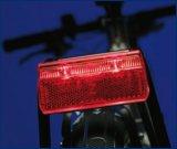 Der Lichtstreifen dieser Rückleuchte erleichtert es näherkommenden Autofahrern, die verbleibende Entfernung abzuschätzen.