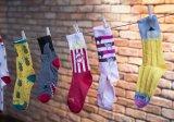 Neben der unüberschaubar großen Auswahl an Designs bietet Hersteller Sockguy seine Radsportsocken ab einer Mindestbestellmenge auch in Wunschgestaltung an, etwa für Teams, Events oder als Merchandise-Artikel.