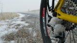 Schnee und Matsch können ein(em) Schaltwerk schon gut zusetzen.