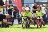 Wer Erster wird, ist beim Laufradrennen gar nicht wichtig. Vielmehr geht es darum, Kindern von klein auf Spaß am Sport und am Radfahren zu vermitteln.