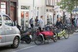 Mehr Parkmöglichkeiten für Lastenräder in der Innenstadt ist eine Forderung an Stadtplaner.