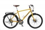 Mt 2x10-Kettenschaltung wendet sich dieses hochwertige Trekkingbike an sportliche Fahrer.